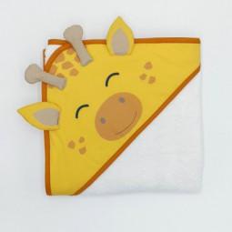 Cape de bain girafe