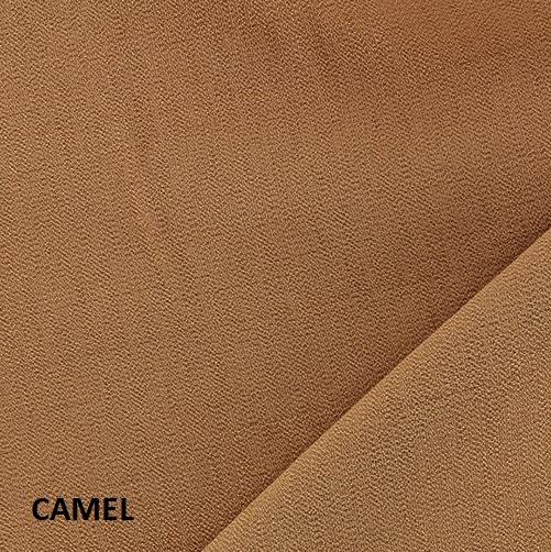 coton uni camel